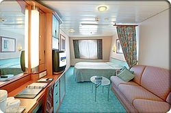 EX Large Ocean-View Stateroom