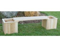 8' Planterbox's with bench