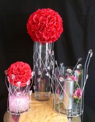 Crystal Vase Sleeves