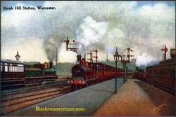 Worcester Station.