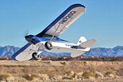 Carbon Z Cub takes off