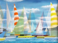 Striped Spinnakers