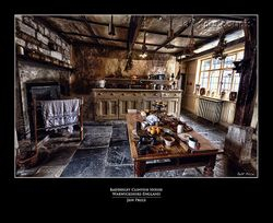 Baddesley Clinton House Kitchen, Warwickshire-England