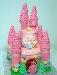 Castle Cake 2 (B051)