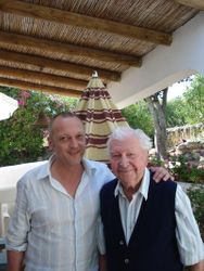 With Clive Dunn