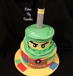 Ninja  Cake with Sword
