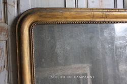 #26/196 LRG FRENCH LOUIS PHILIPPE MIRROR DETAIL