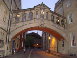 A friday night walk around Oxford