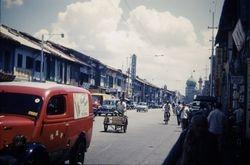 248 Street scene Singapore 1960