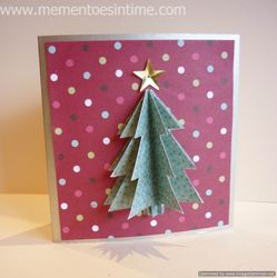 Layered Tree Card