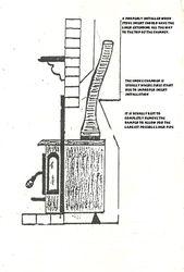 wood stove insert installation