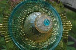 443 - Golden Sapphire - $85 - At Artisan's Corner
