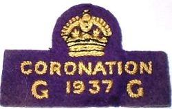1937 Coronation Badge