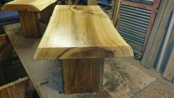 two coffee tables in production