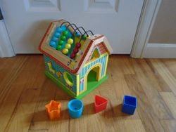 Alex Toys Wood Sort and Count Bead Maze - $10