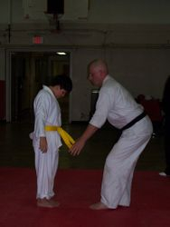 Getting a Yellow Belt