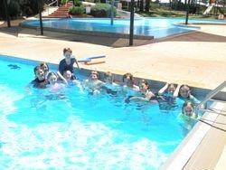 Swimming at Highfields Pool