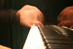 Playing a Chopin Etude