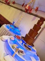 Double Chocolate Fountain hire Leeds.