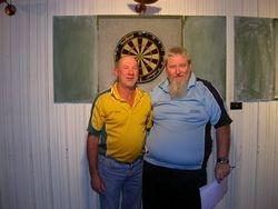 Mens Doubles R/Up Neil Ballantine & Dean Parkins