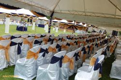Theatre set up wedding