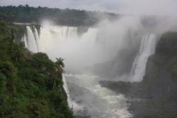 Iguazu Falls from Brazilian side