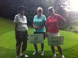 6th Foursome at Hole Sponsor Signs!