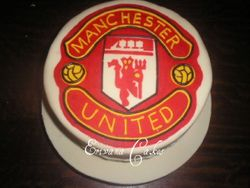 Manchester United cake(SP058)