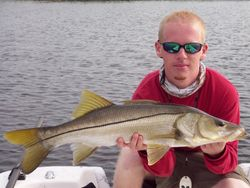 Nathan with his 31 1/2 snook