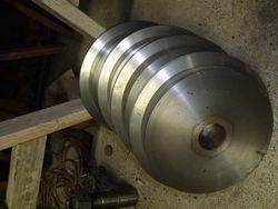 abrasive blast cabinet wheels