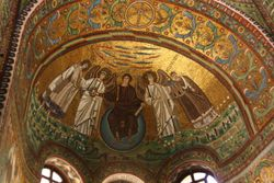 Ceiling in Basilica San Vitale in Ravenna