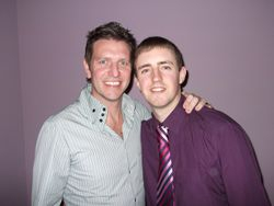 Ex- Man Utd and England midfielder Lee Sharpe
