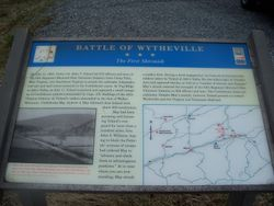 Battle of Wytheville - The First Skirmish