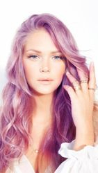Amethyst hair color