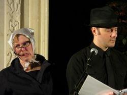 Elizabeth Livesay and David Kossack