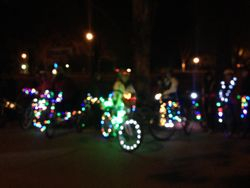 Get Fit with Monica Annual Lighted Bike Parade
