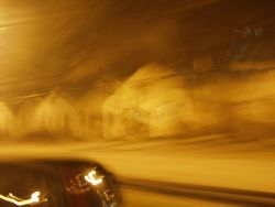 Houses Speeding By