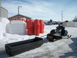 Snowmobile Sled