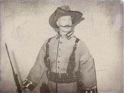 Vize-Feldwebel in German-Southwestafrica 1914