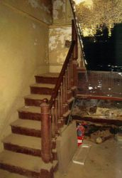 Old stairway leading down