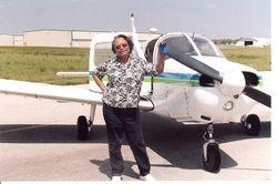 MARCIA, ASST  A.R.E.A. WEBMASTER  AND STUDENT  PILOT