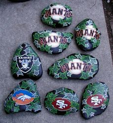 TEAM ROCKS - GIANTS/BRONCOS/NINERS/RAIDERS
