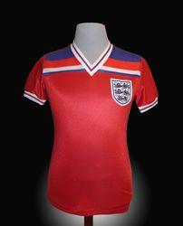 Admiral Match Worn England Terry Butcher Shirt 1982