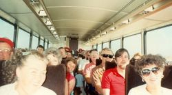 On a bus tour from Chico
