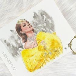 Rihanna Watercolor