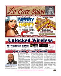 LA CUTZ SALON / UNLOCKED WIRELESS / DR. PEDRO SANTANA