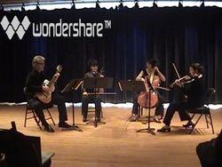 Shubert NMS Quartet, May 2012.
