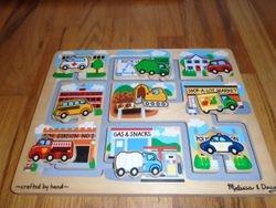 Melissa & Doug Vehicles Maze - $15