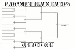 Sweet 16 Euchre March Madness