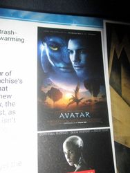 Graphic for My Mini-Review of Avatar in The Top 100 Sci-Fi Films of All Time (and Space) in Starburst Magazine #473: The Top 100 Sci-Fi Films of All Time (and Space) Collectors? Edition